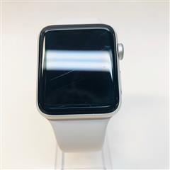 Apple Watch Series 3 (42mm) A1861 Silver Case & White Sport Band GPS + LTE